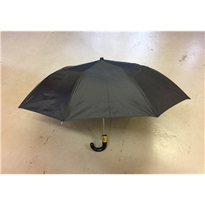 Umbrella Black Manual Gents