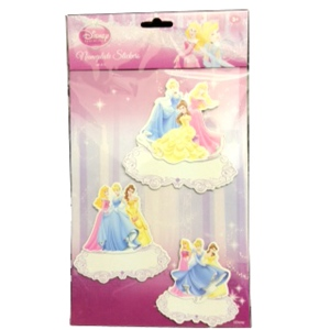 Nameplate Sticker Princess