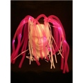 Light Up Dread Lock Pink Colour