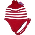 Hat Peruvian Red White