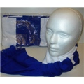 Scarf Blue-White
